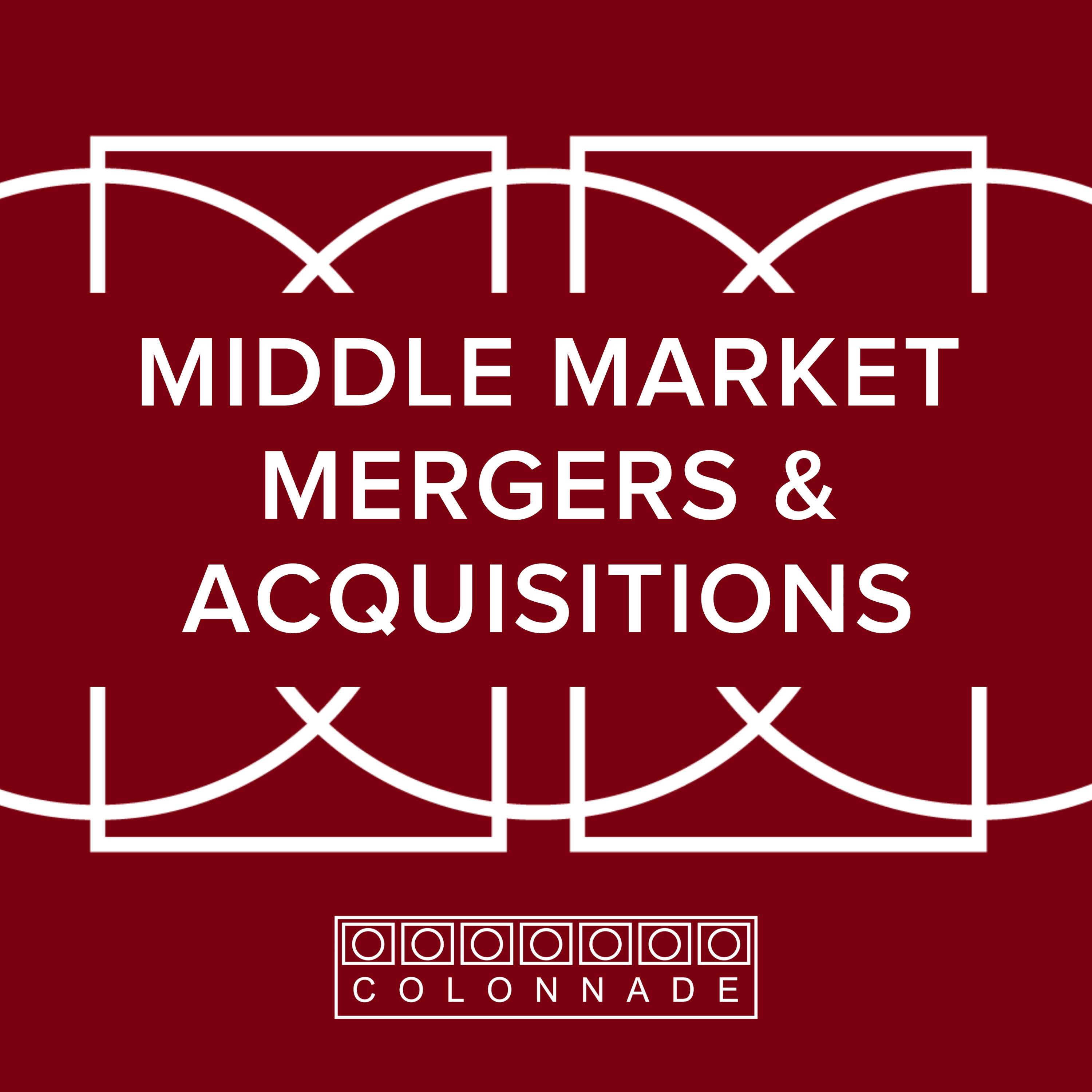 Middle Market Mergers and Acquisitions by Colonnade Advisors show art