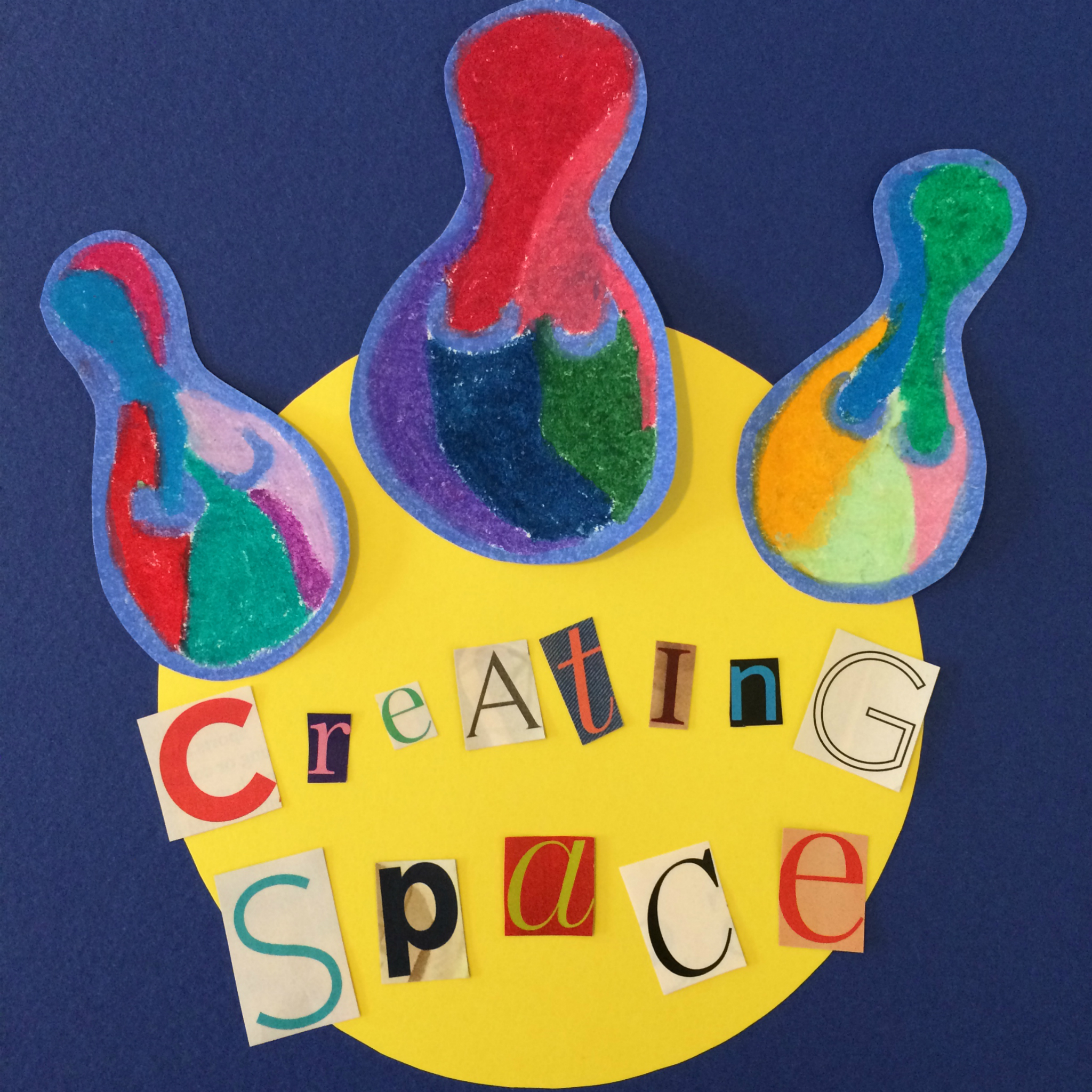 Creating Space Project show art