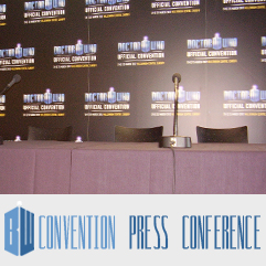 Doctor Who Convention Press Conference