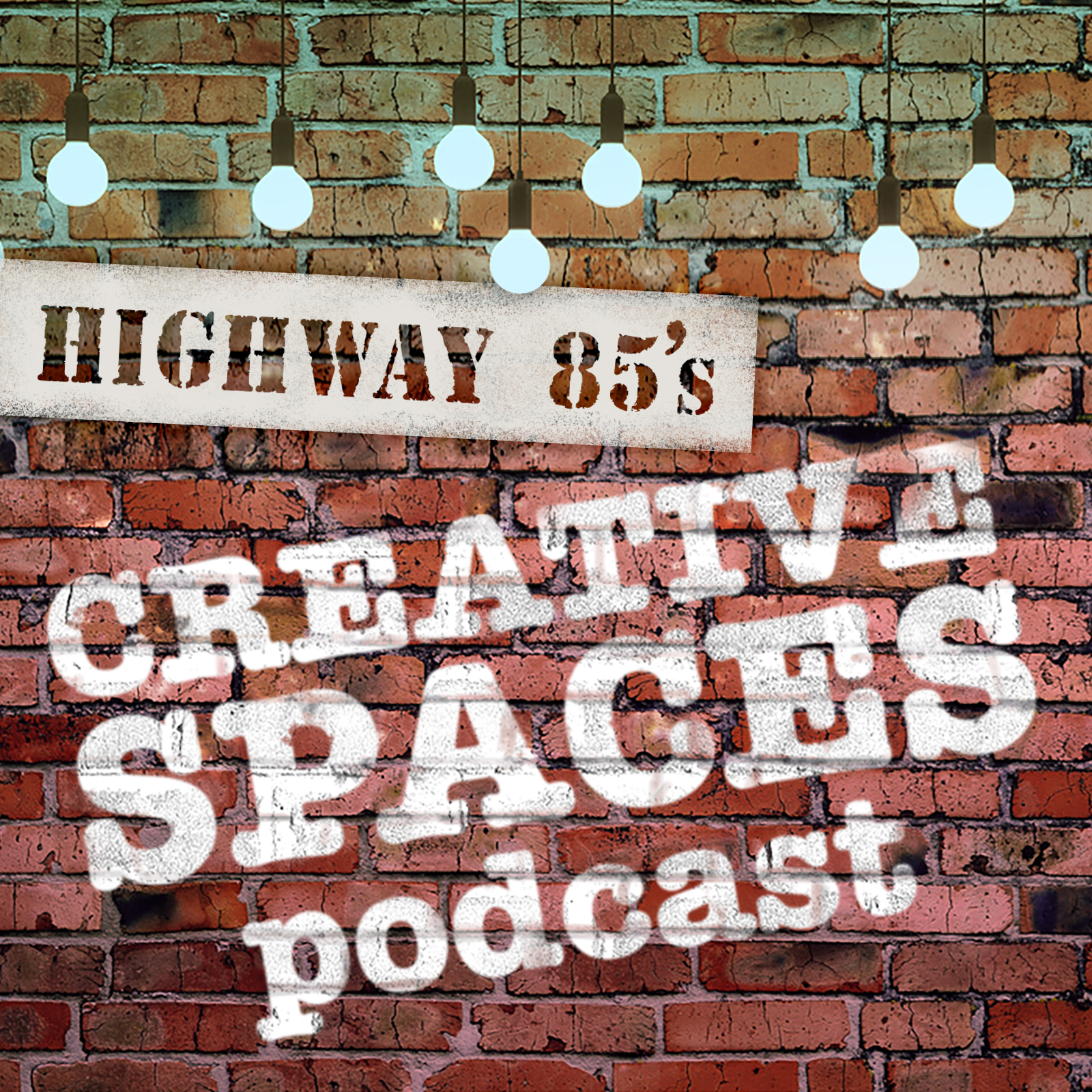 Creative Spaces Podcast show art