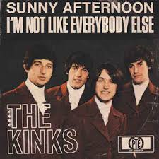 Artwork for The Kinks - I'm Not Like Everybody Else - Tme Warp Song of The Day (9/26)