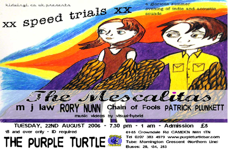 xx speed trials xx podcast from kidvinyl.co.uk