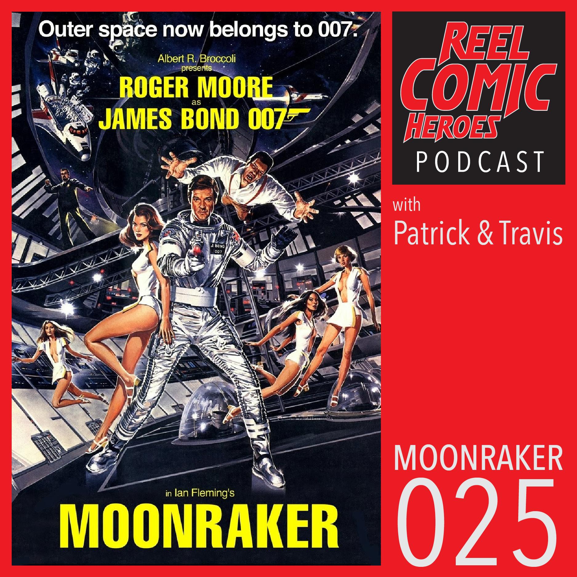 Artwork for Reel Comic Heroes 025 - Moonraker