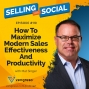 Artwork for How To Maximize Modern Sales Effectiveness And Productivity, with Mat Singer, Episode #11