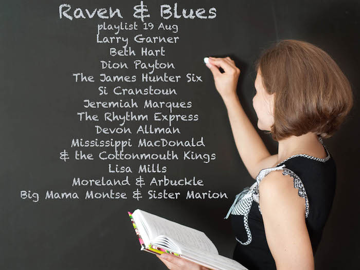 Raven and Blues 19 Aug 2016