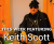 Keith Scott Blues show art