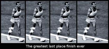 John Stephen Akhwari, 1968 Tanzanian Olympic Runner