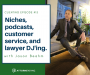 Artwork for Clienting #13: Niches, customer service, and music festivals with Jason Beahm