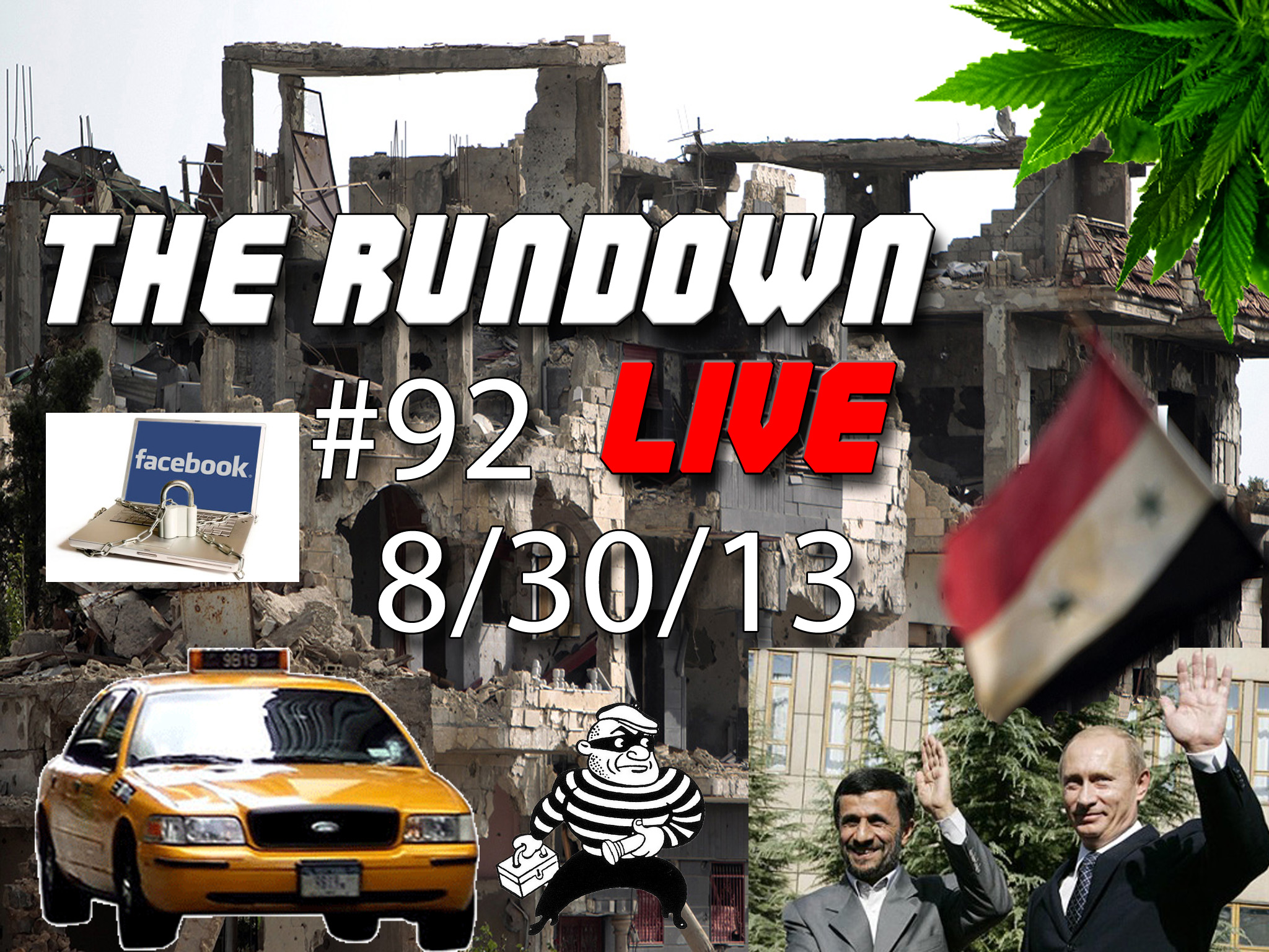The Rundown Live #92 Syria, Facebook, Mars, Pot Planters