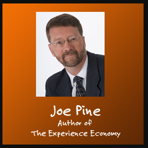 Joe Pine, author of The Experience Economy talks to The Innovise Guys