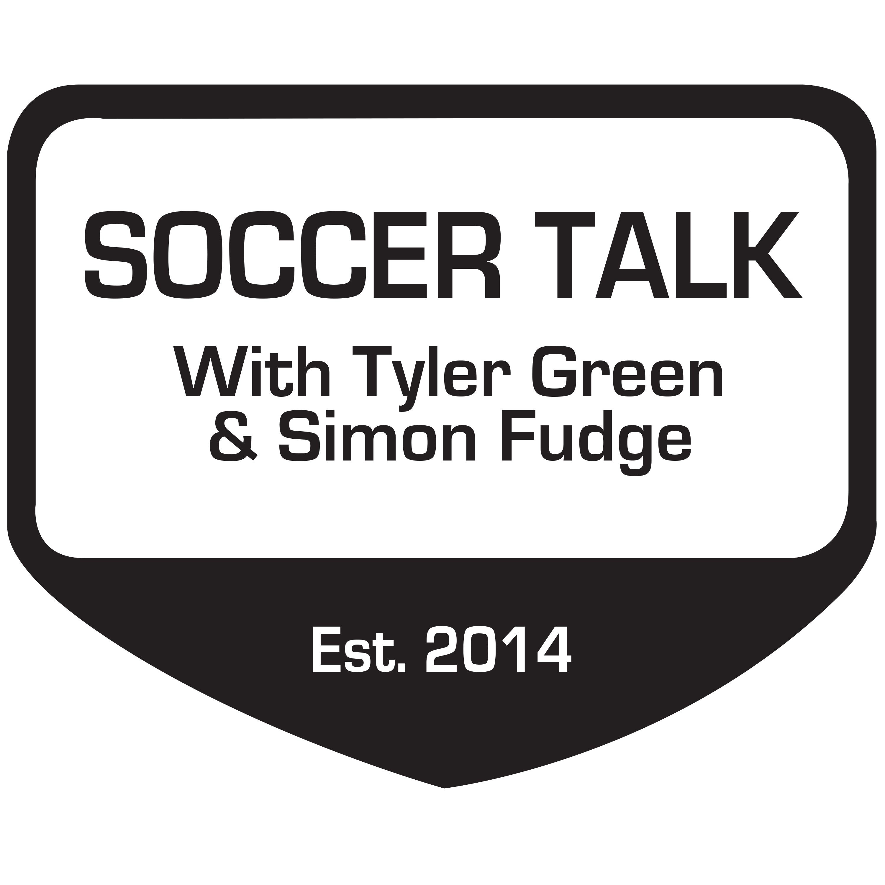 Soccer Talk with Tyler Green and Simon Fudge show art