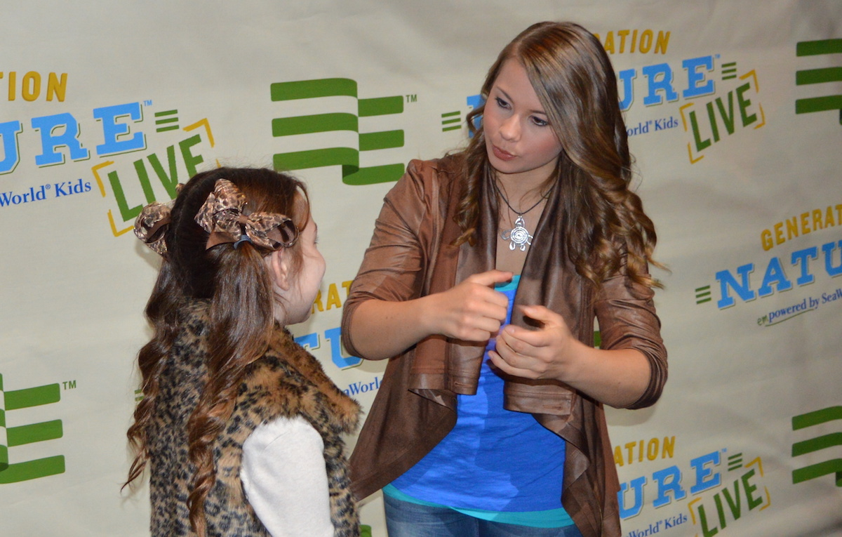 SeaWorld Podcast 35 - Bindi Irwin talks about Generation Nature and Clay Carbajal