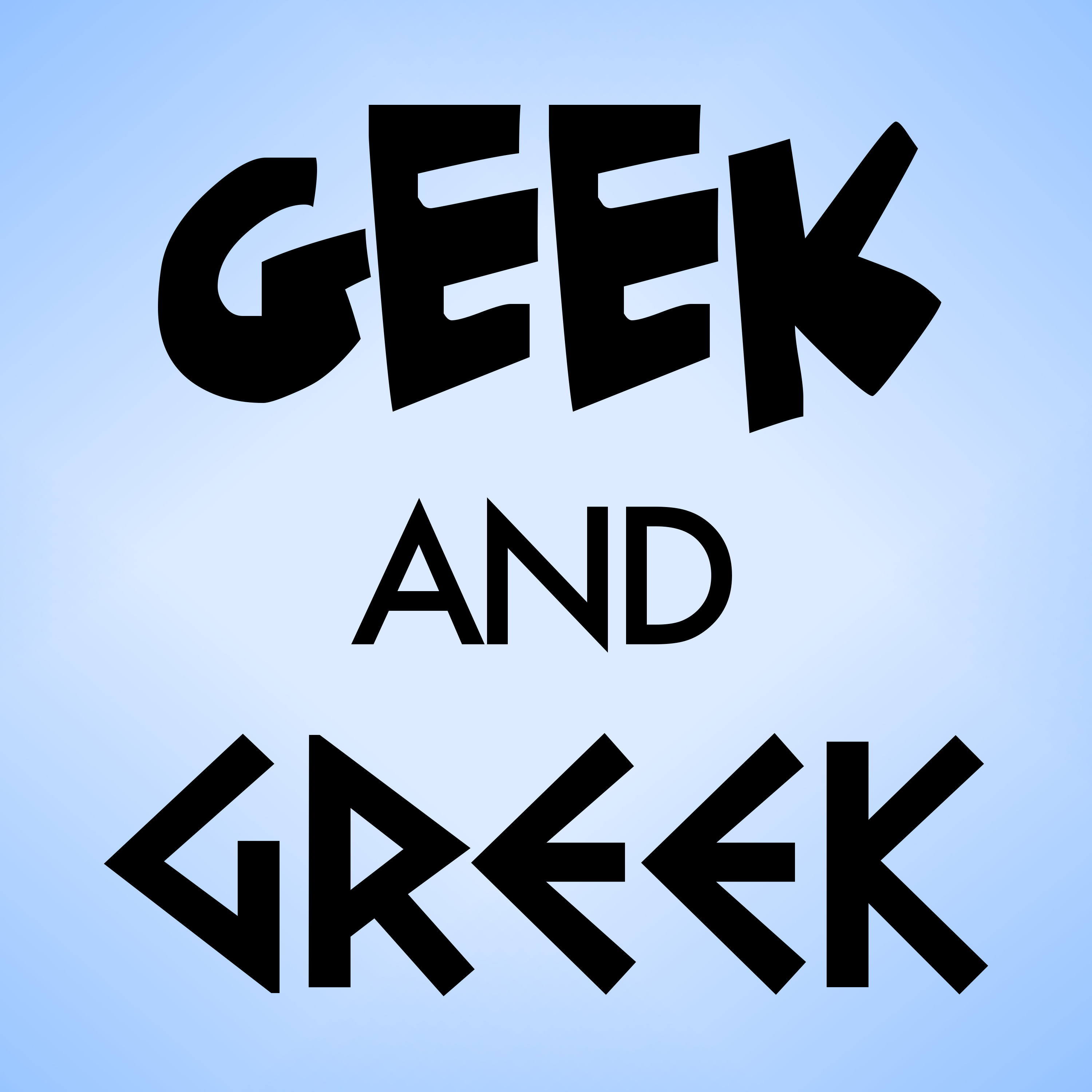 Geek and Greek Podcast show art