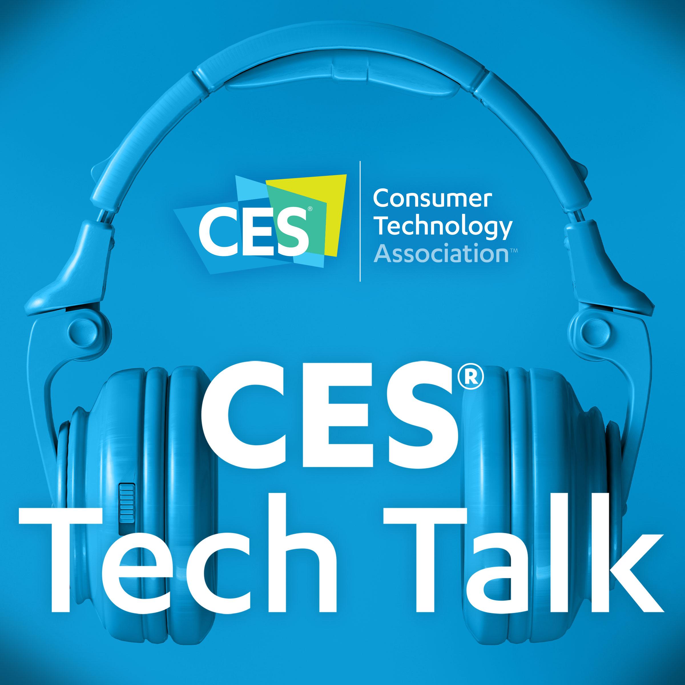 CES Tech Talk show art