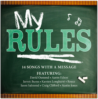 'My Rules,' 14 modern songs with a message for youth