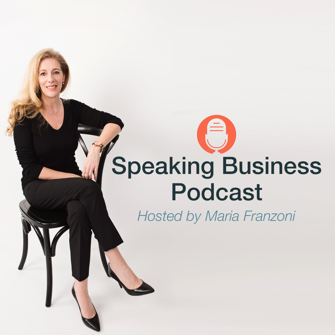Speaking Business podcast show art