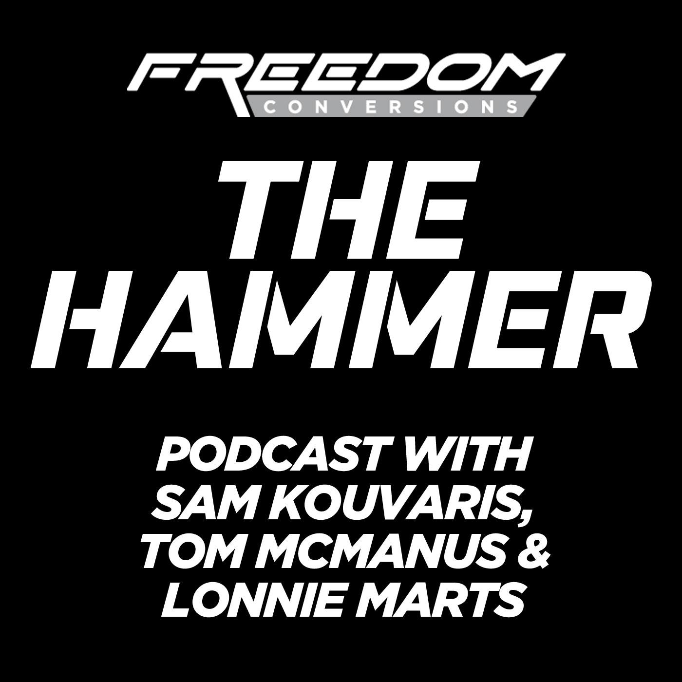 The Hammer show art