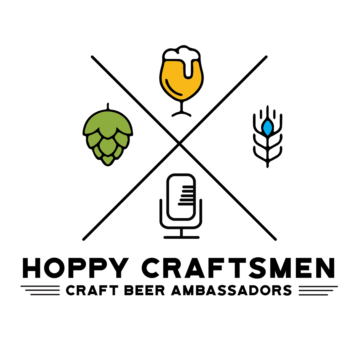 Hoppy Craftsmen - Arizona Craft Beer Podcast show art
