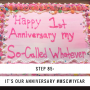 Artwork for Step 85 - It's Our Anniversary #MSCW1Year