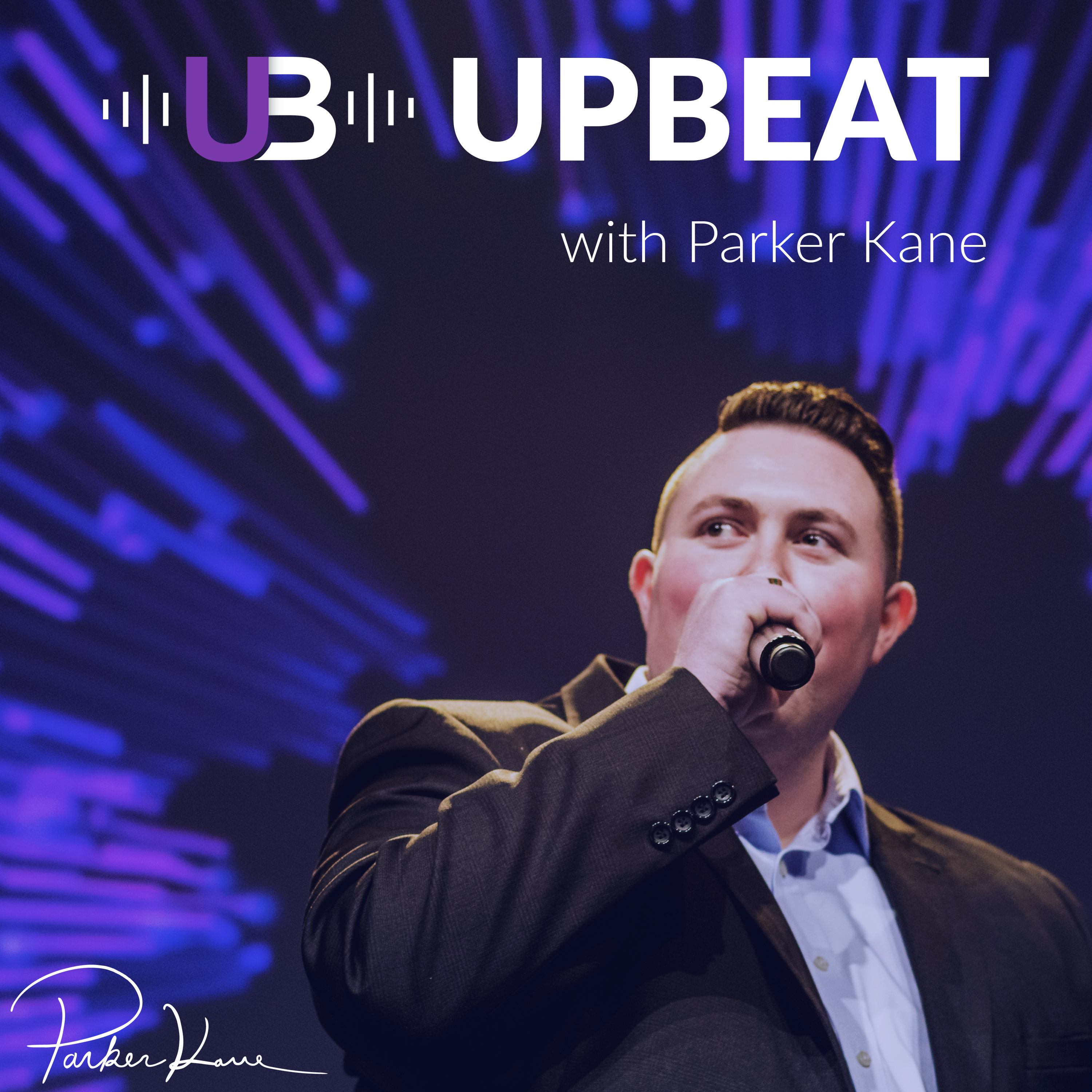 UPBEAT with Parker Kane show art