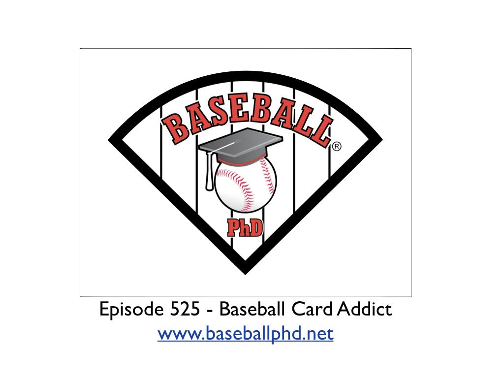 2021 Baseball Card Addict show art
