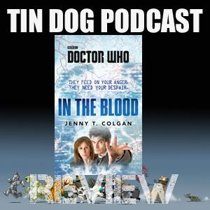 TDP 585: Doctor Who Book -IN THE BLOOD BBC BOOK