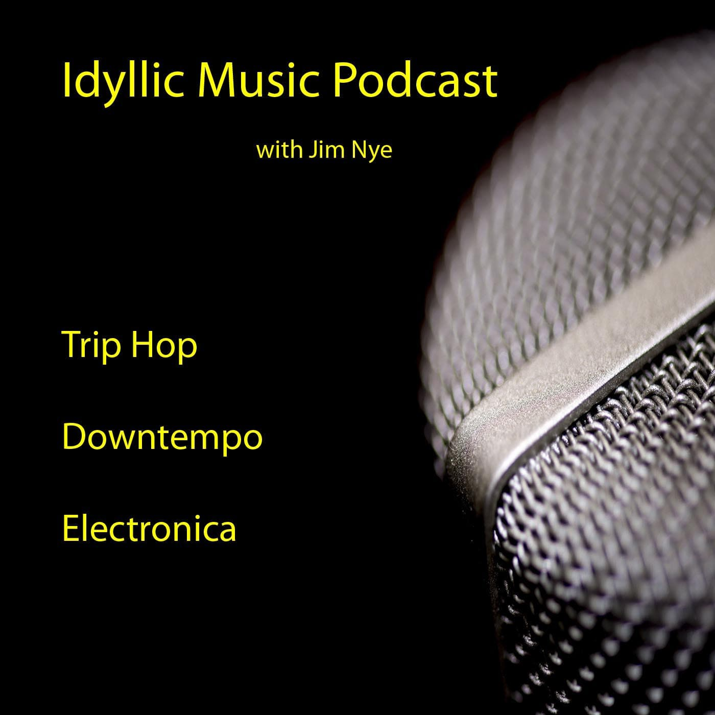 Idyllic Music Podcast | Trip Hop - Downtempo - Electronica show art
