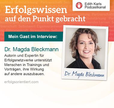 089 - Im Gespräch mit Dr. Magda Bleckmann