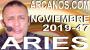 Artwork for ARIES NOVIEMBRE 2019 ARCANOS.COM - Horoscopo 17 al 23 de noviembre de 2019 - Semana 47...
