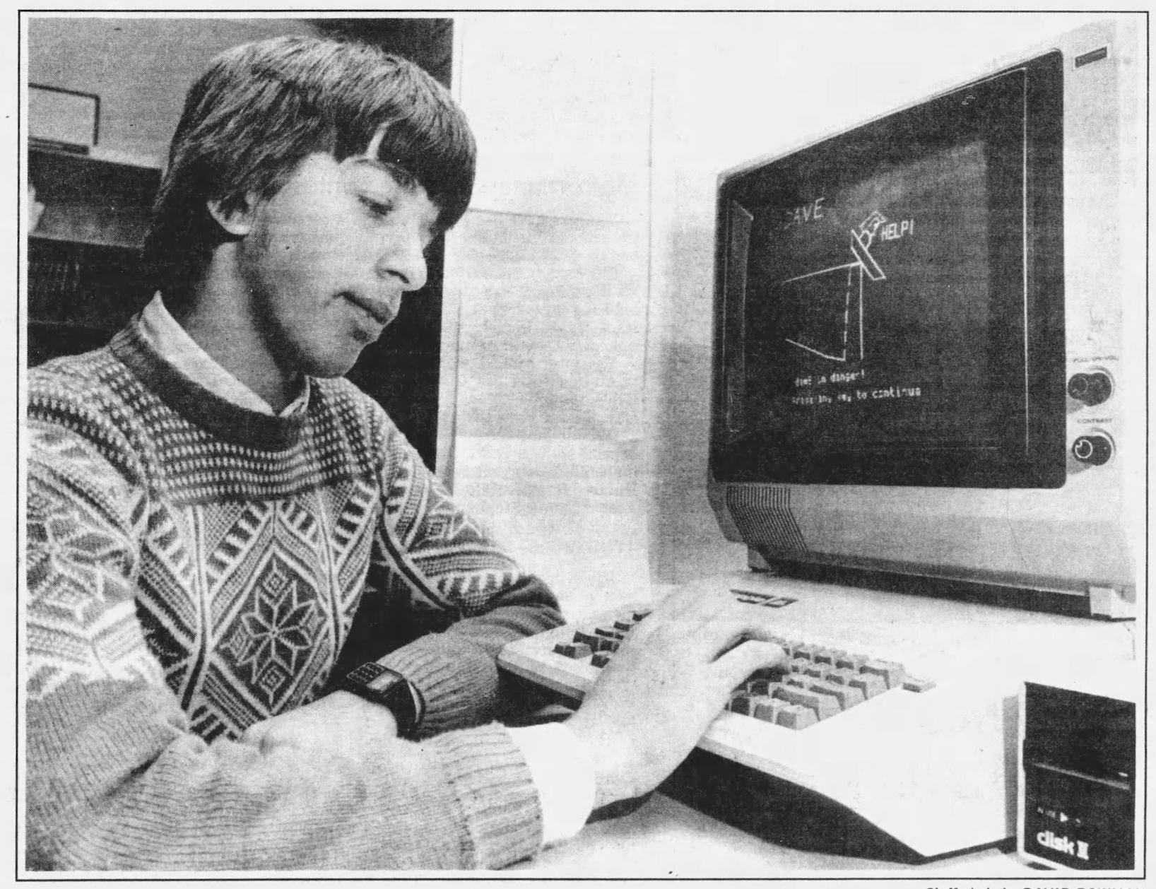 ANTIC Interview 406 - Atari at the Science Fair: Michael Fripp, Silent E
