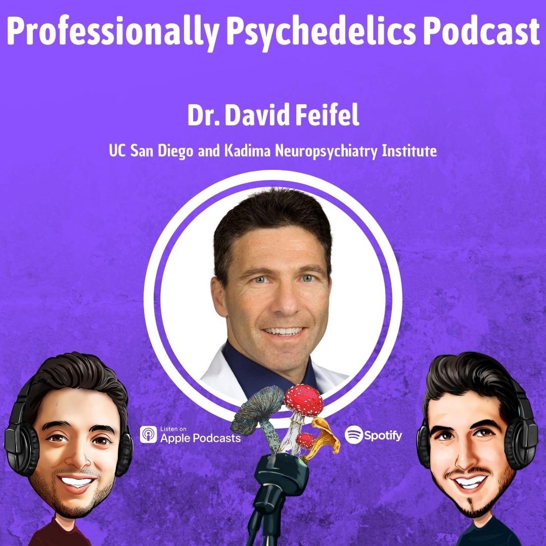 Artwork for Part 1   Dr. David Feifel, Professor Emeritus at UC San Diego & Founder of Kadima Neuropsychiatry Institute