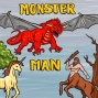 Artwork for Episode 13: Displacer Beast to Doppelganger