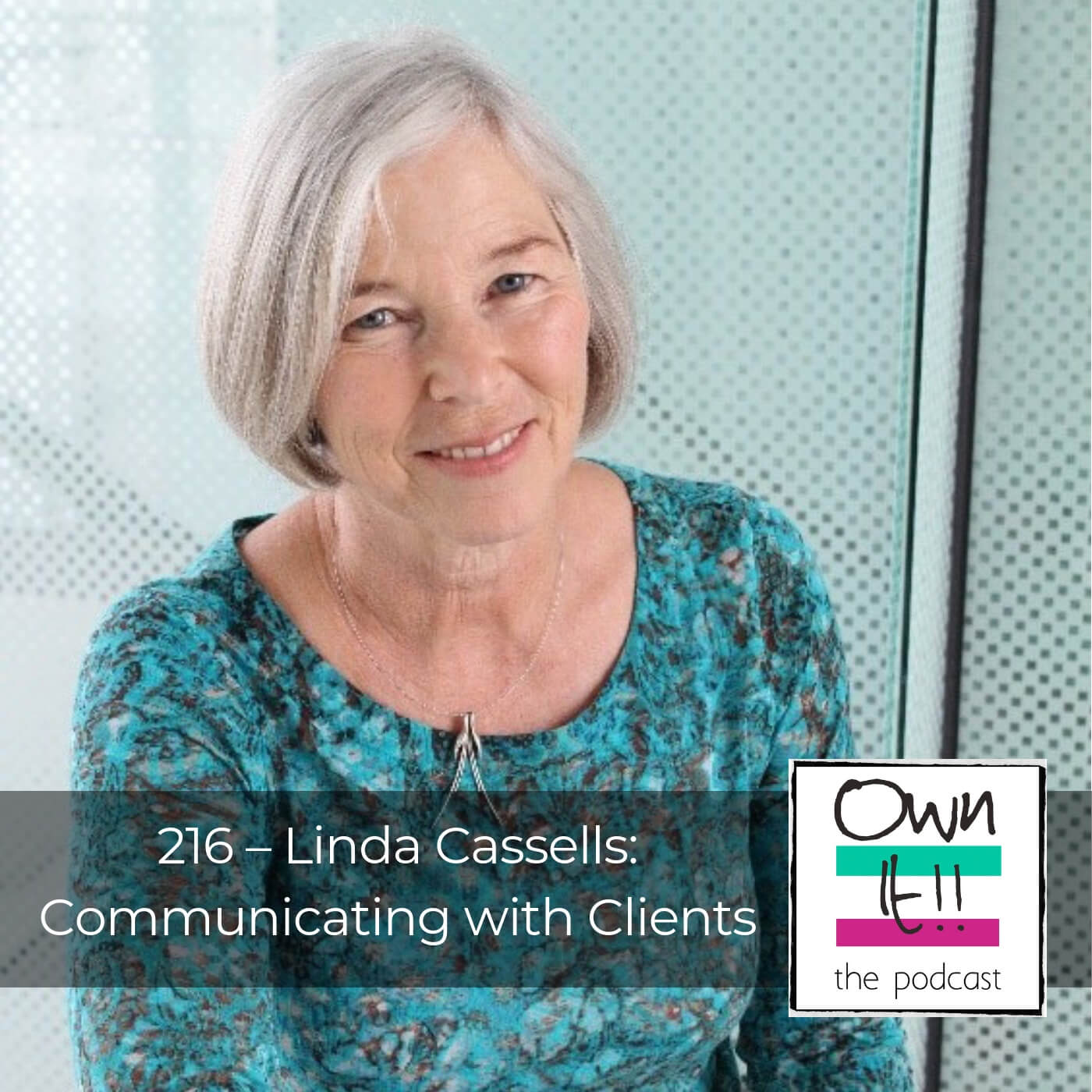 Artwork for Own It! 216 | Linda Cassells & Communicating With Clients