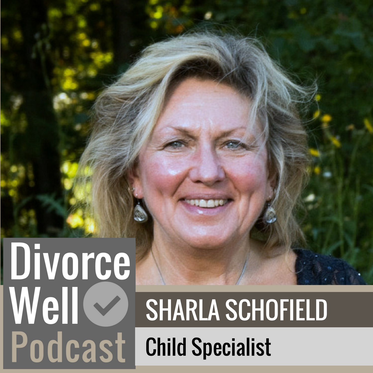 The Divorce Well Podcast - 12 - Child Specialist, Sharla Schofield