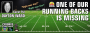 Artwork for One of Our Running Backs is Missing