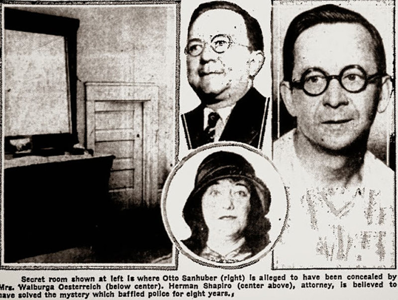 News Clipping from Sanhuber Case