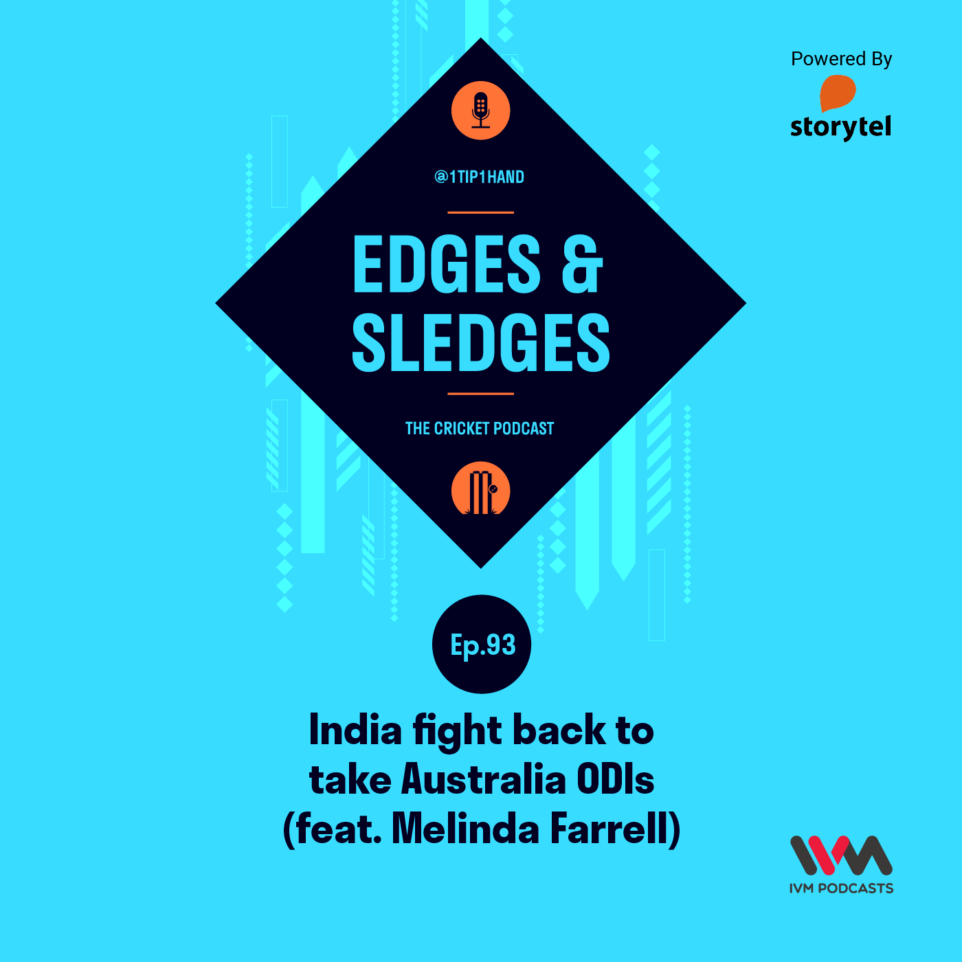 Ep. 93: India fight back to take Australia ODIs (feat. Melinda Farrell)