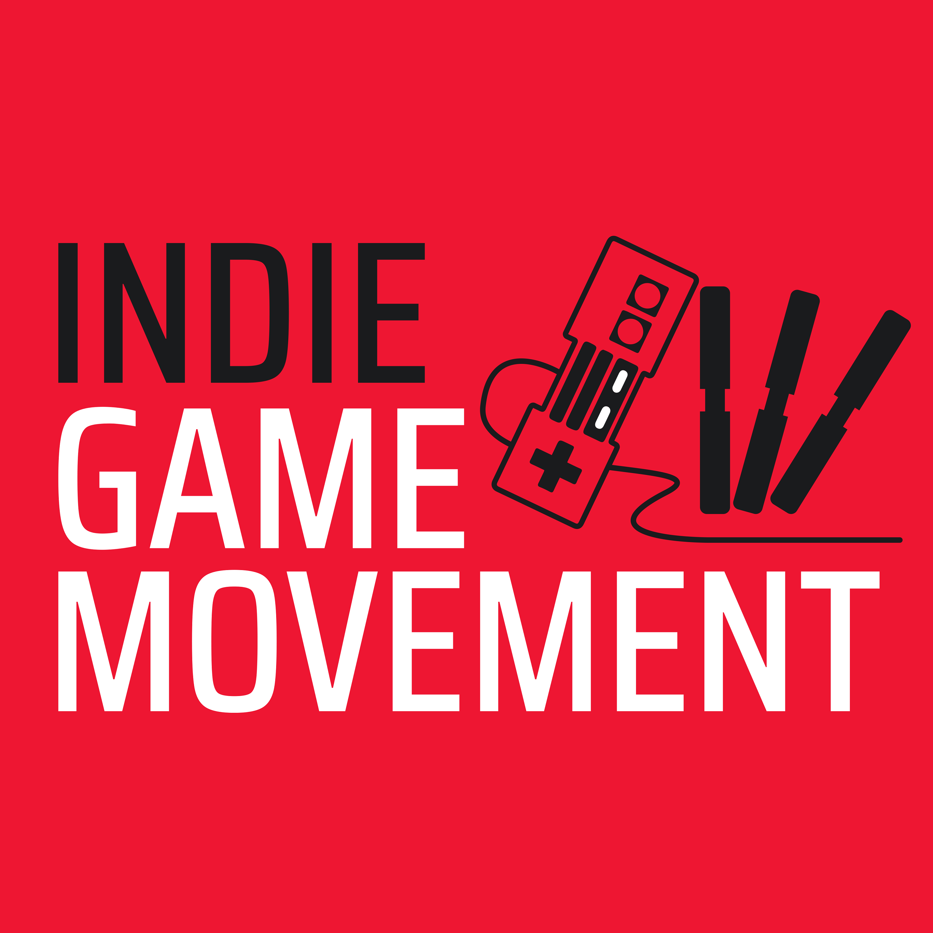 Indie Game Movement show art