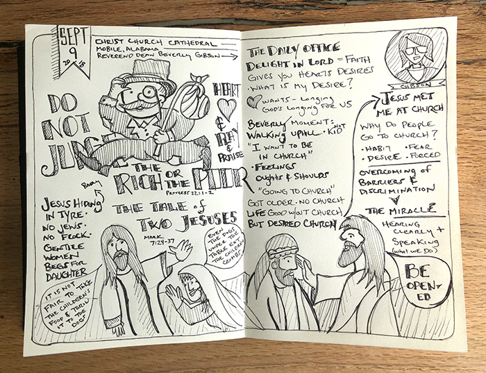 sabbadoodles | 090918 | Johnny Gwin | Christ Church Cathedral