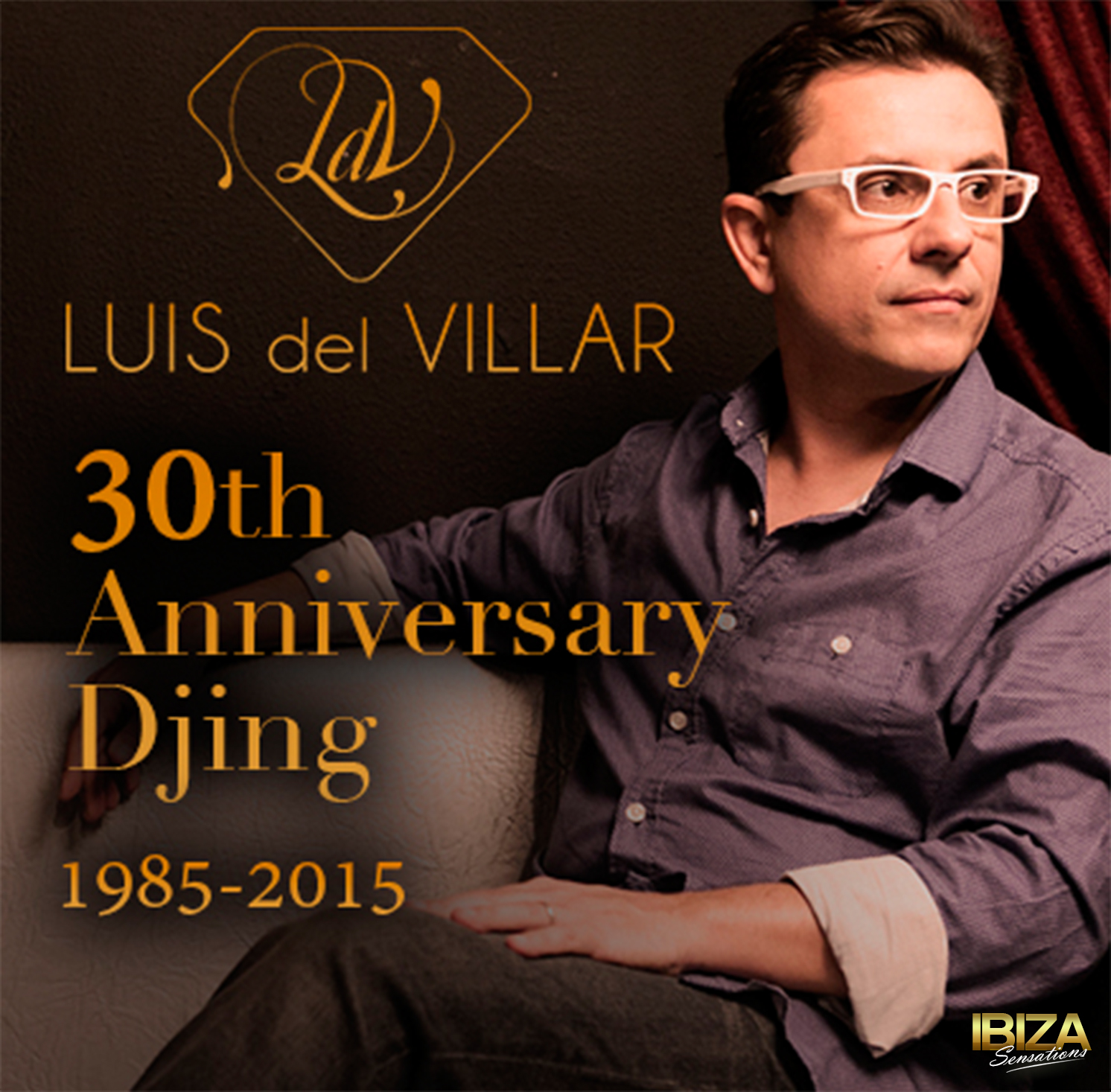 Artwork for Ibiza Sensations 127 Celebrating 30th Anniversary Djing 1985-2015