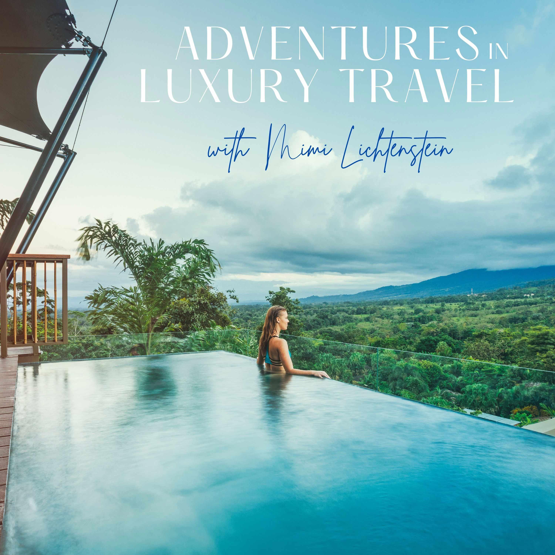 Adventures in Luxury Travel show art
