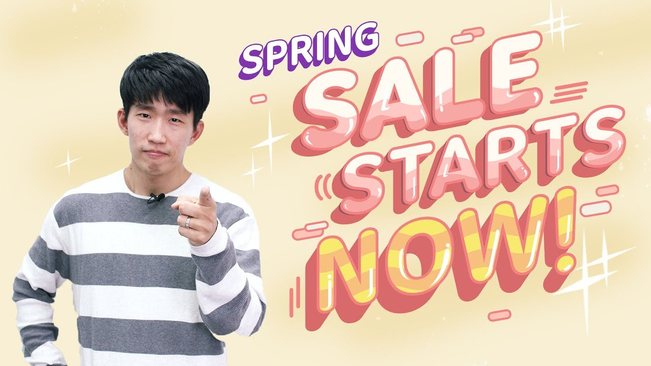 TTMIK Spring Sale: Up to 30% Off For 2 Weeks