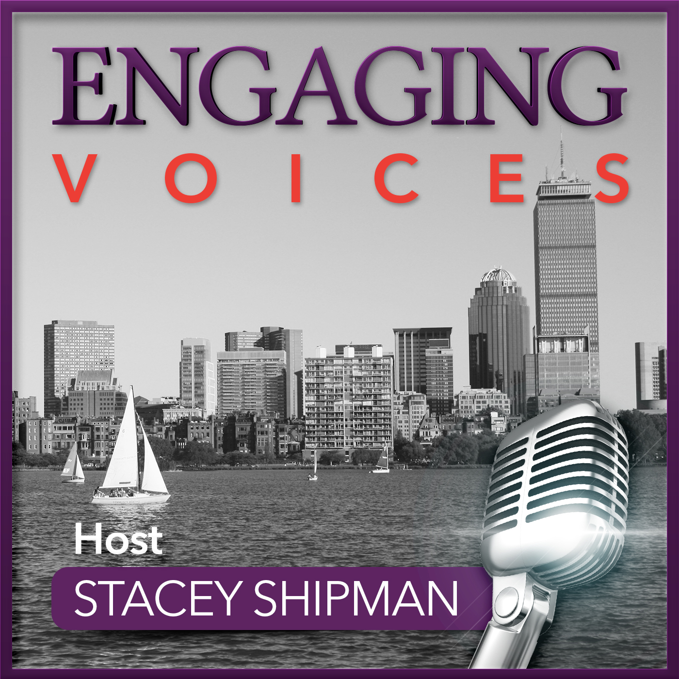 Engaging Voices Podcast show art