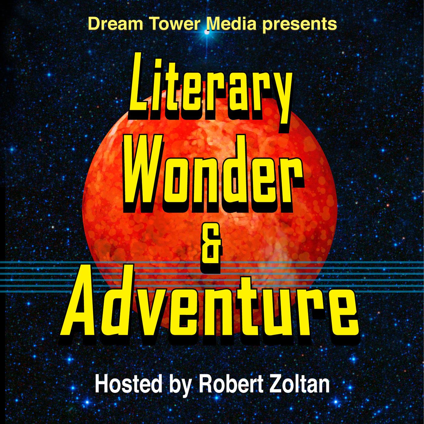 Literary Wonder & Adventure Show show art