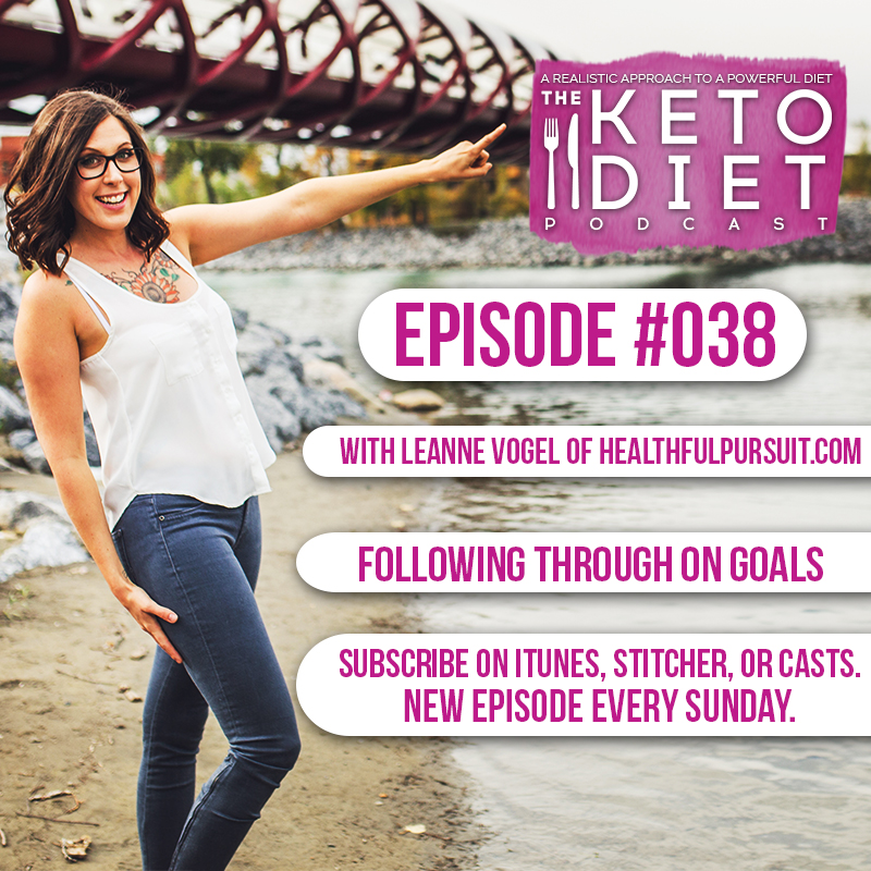 #038 Following Through On Goals with Sarah Knight