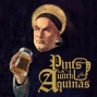 Artwork for 82: Aquinas Vs Bonaventure over the beginning of the universe, and, for some random reason, Friedrich Nietzsche!