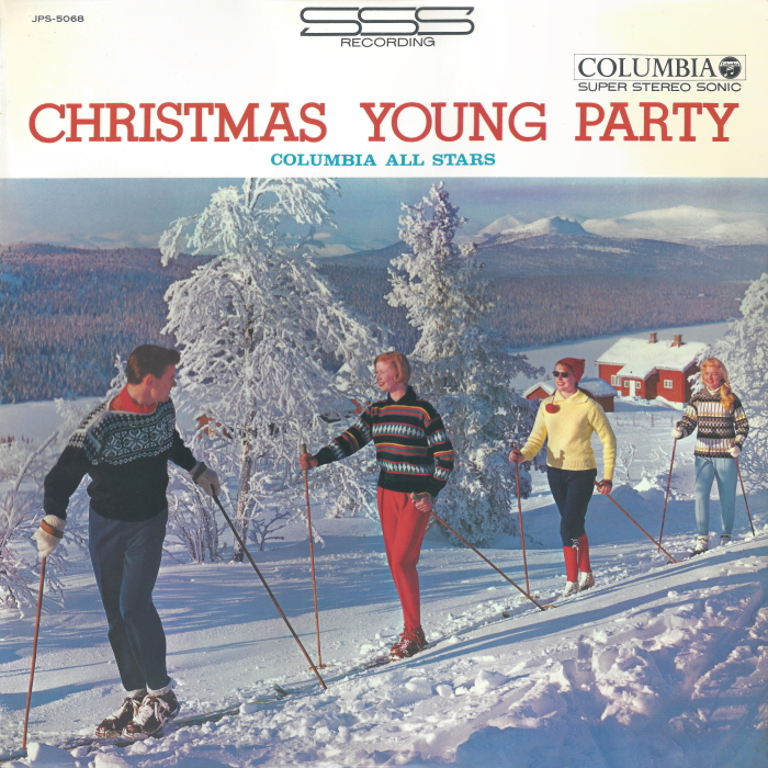 """Columba All Stars """"Christmas Young Party"""" 1965"""