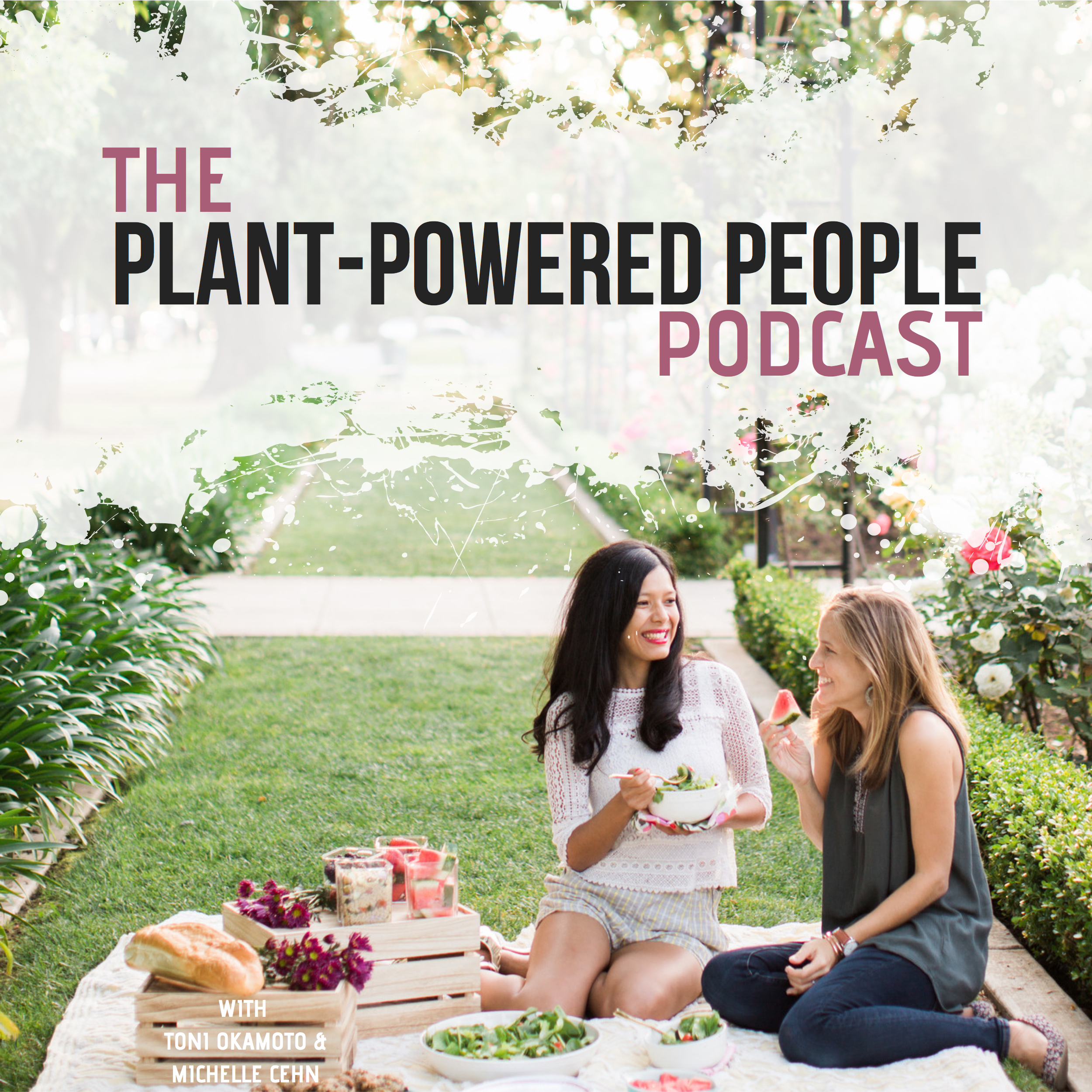 Plant-Powered People Podcast show art