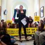 Artwork for Bill McKibben is down on COPs but bullish on climate action