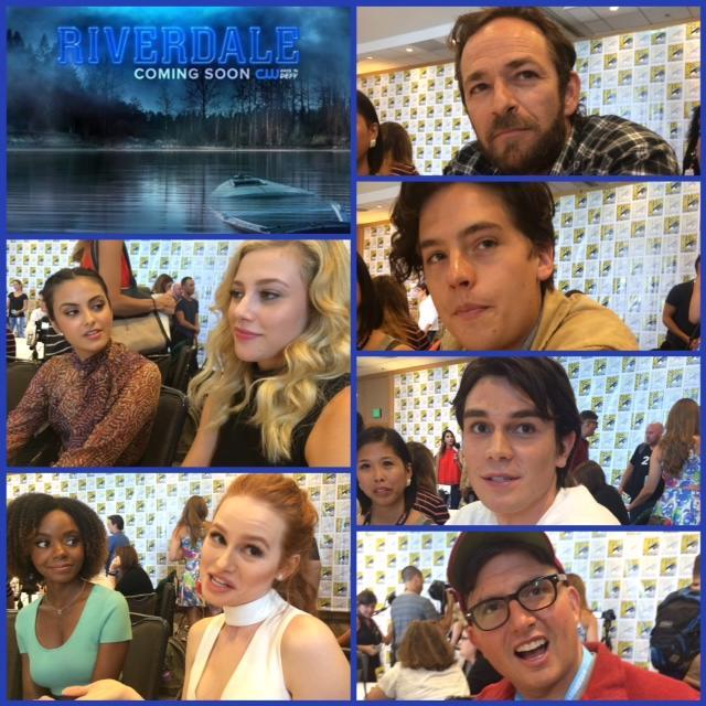 Episode 712 - SDCC: Riverdale w/ Luke Perry/Madelaine Petsch/Ashleigh Murray/Cole Sprouse/KJ Apa/Camilla Mendes/Lili Reinhart/Showrunner Roberto Aguirre-Sacasa!